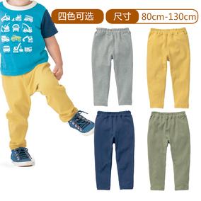 千趣会 BABY&CHILD婴儿童装男车车印花贴标弹力长裤 C59793