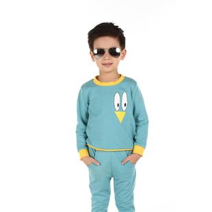 童装2014秋装新款儿童套装男童女宝宝卫衣两件套0-1-2岁婴儿