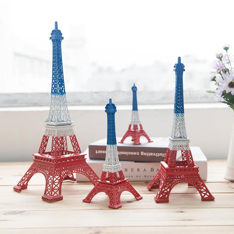 巴黎艾菲尔铁塔摆件模型埃菲尔铁塔家居创意装饰品生日礼物小摆件
