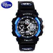 男孩户外运动手表男款 米奇防水夜光学生电子表 迪士尼儿童手表