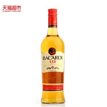 【天猫超市】Bacardi百加得151朗