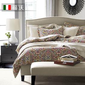 北欧布艺床 小户型现代简约欧式床双人床美式床1.8米2m布床简欧床