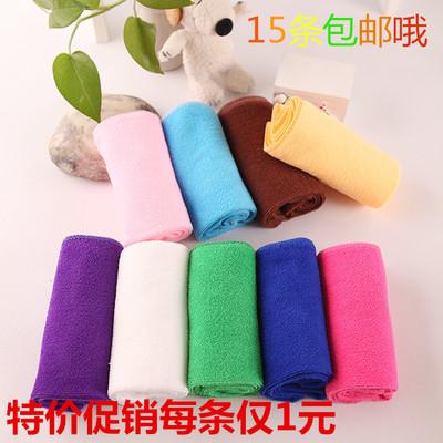 超细纤维压缩毛巾吸水不掉毛餐巾 擦车巾抹布 擦桌布 干发巾促销