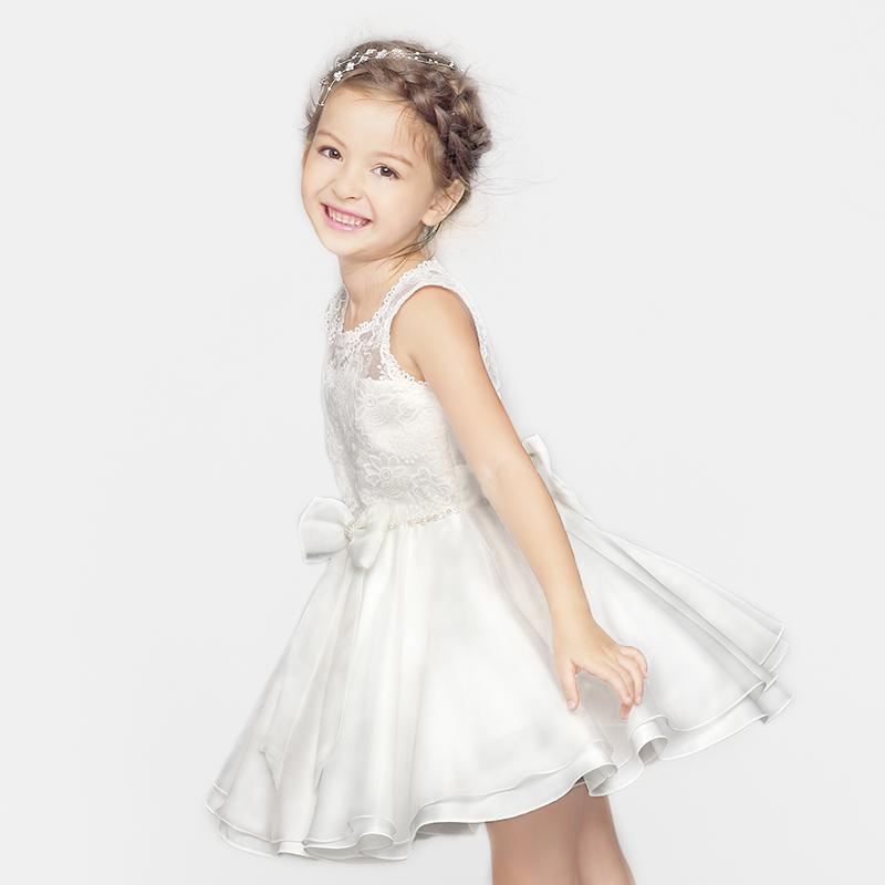 蓬蓬連衣裙女童六一禮服兒童演出童裝公主