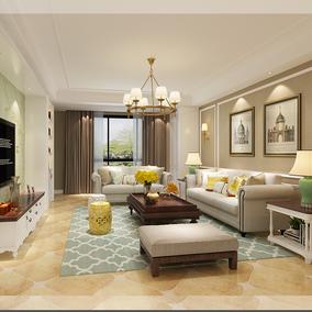 现代简约美式欧式室内家装设计师 装修设计三居室施工图装修服务
