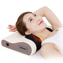 盛世阳光颈椎按摩器脖子颈部肩部腰椎按摩垫仪多功能全身按摩枕头