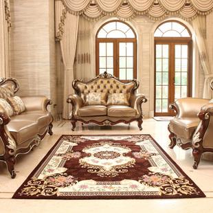 【特价】特价现货新款豪华欧式3d立体弹力丝地毯客厅