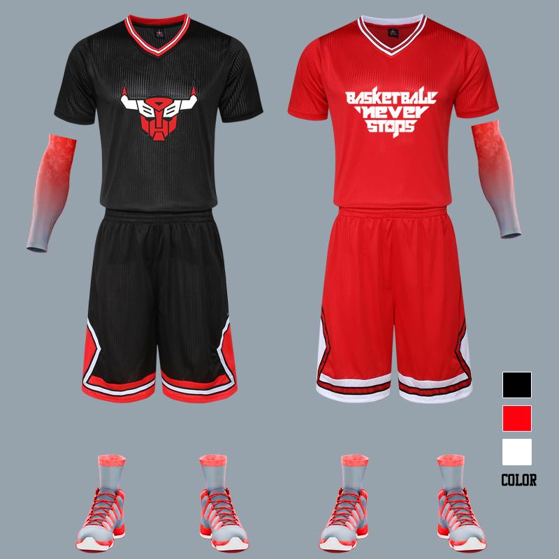 篮球定制夏季 篮球服男球服套装短袖 篮球服球衣套装定制队服