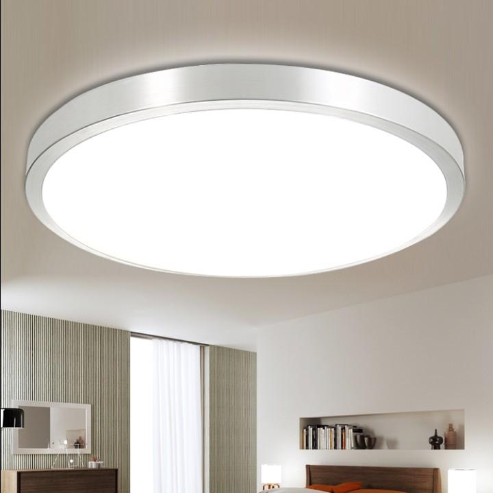 特价LED吸顶灯现代简约铝材卧室客厅灯阳台厨卫过道灯饰节能灯具