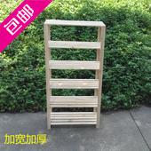 特价广东省包邮樟子松防腐木货架简易书架置创意格架收纳架储物架
