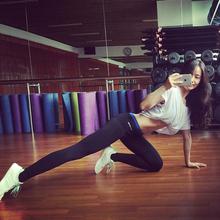 暴走的萝莉紧身小脚高弹力运动裤女秋速干跑步瑜伽健身长裤休闲裤