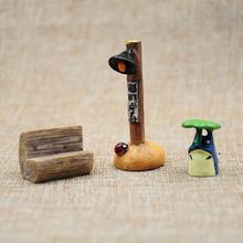 苔藓微景观生态瓶龙猫摆件配饰公仔海藻球植物多肉绿植玩偶