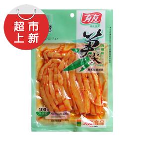 【天猫超市】有友 笋尖(泡椒味)100g 重庆味道 特产美味零食