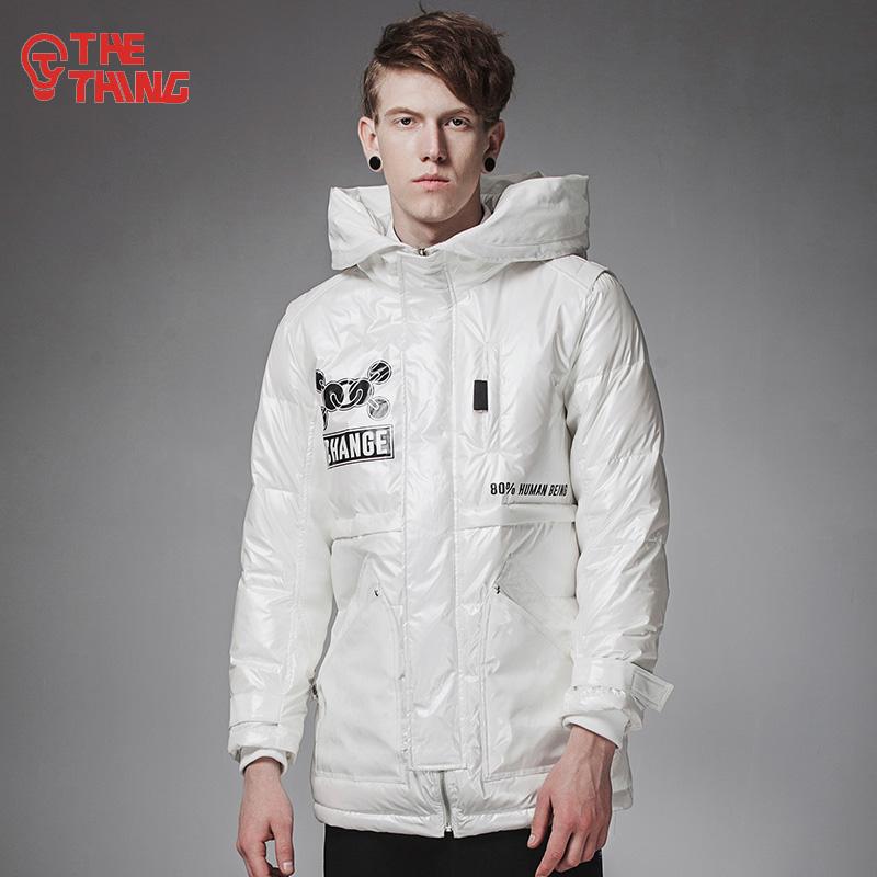 加厚長款羽絨服保暖外套冬季立領插肩中