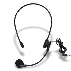 十度S5原声麦克风话筒小蜜蜂扩音器耳麦话筒头戴式270deg;任意调节
