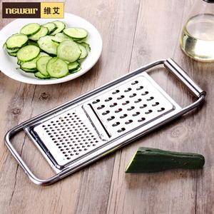 维艾不锈钢多功能切菜神器刨丝器土豆丝切丝器切片器手动厨房用品