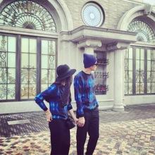 情侣装冬装新款2016韩版修身圆领套头短款毛衣女装针织衫打底衫