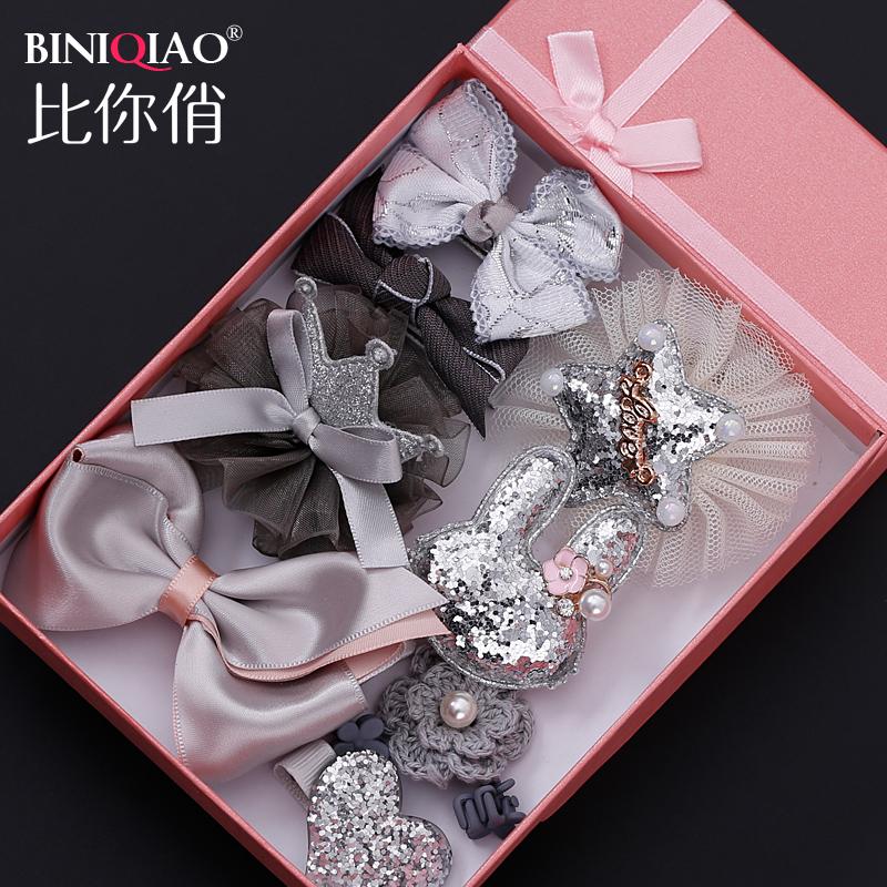 儿童韩国卡子女童套装宝宝饰品小女孩公主发夹