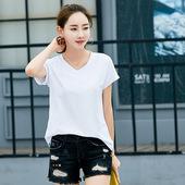 2017春夏新款t恤女短袖体恤半袖上衣韩版学生百搭潮宽松限时打折