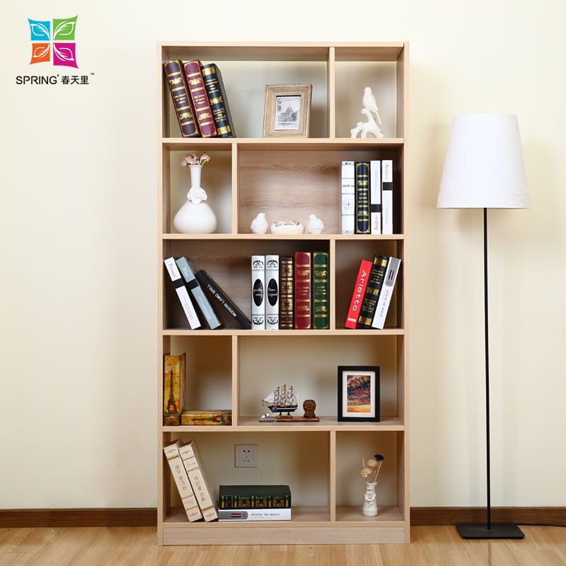 简约现代环保书架实木自由组合书柜宜家创意储物柜