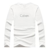 2016秋装新款 长袖T恤 男式上衣服 秋衣服男装打底衫潮CK-1189白