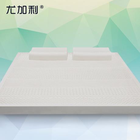 尤加利泰国进口天然乳胶床垫双人席梦思床垫1.5m1.8米床5cm泰脊致商品大图