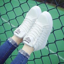 内增高运动鞋 韩版 女高帮学生休闲板鞋 棉鞋 2016冬季加绒小白鞋