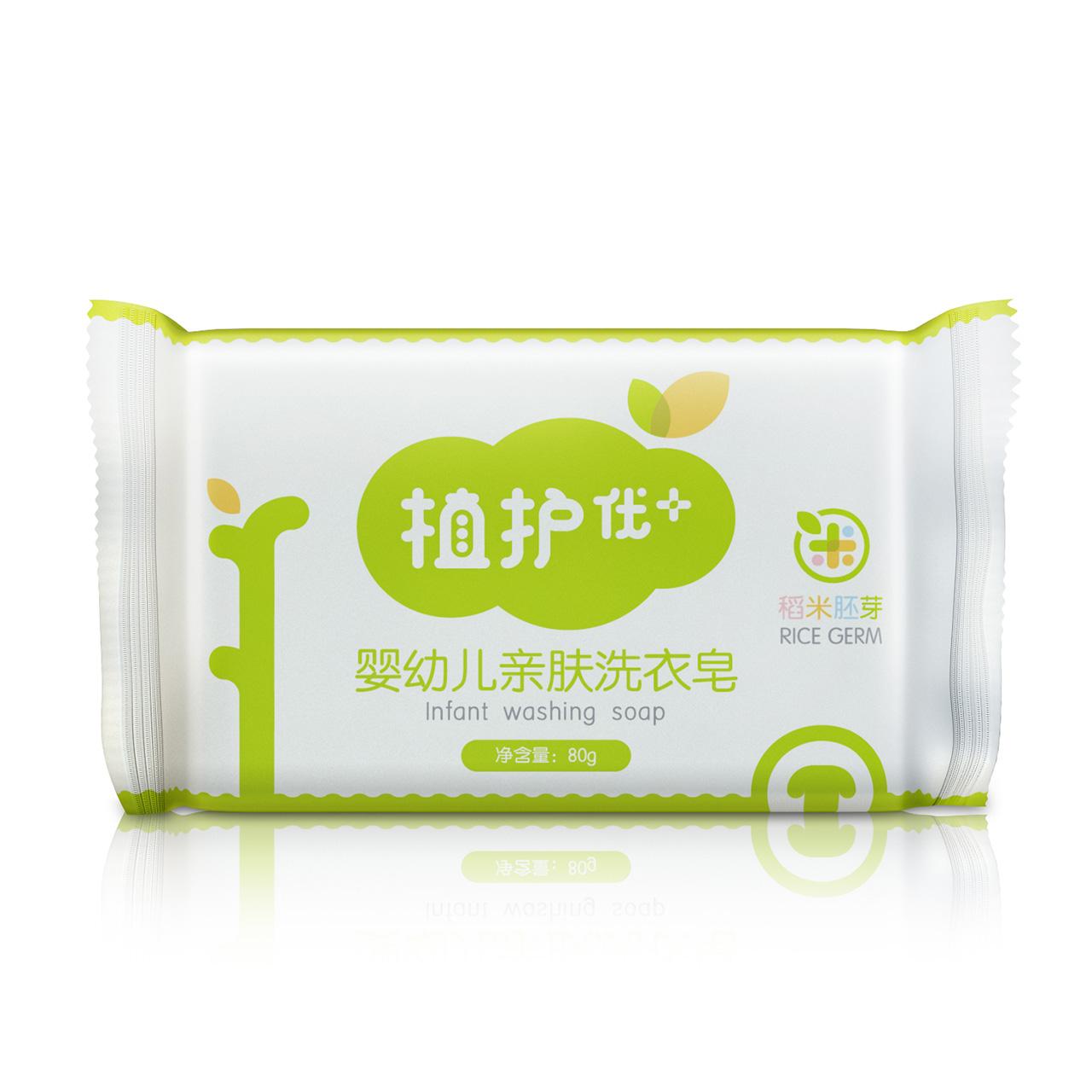 【天猫超市】植护 婴儿亲肤洗衣皂80g