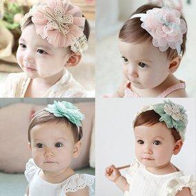 尚头饰头花婴儿童可爱女童