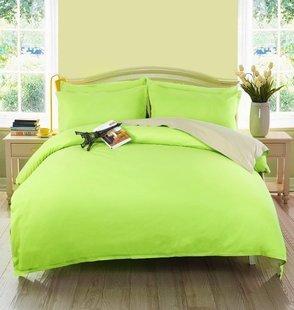朗绮家纺韩版四件套公主床单床套被套学生床上四件套纯色春夏被罩