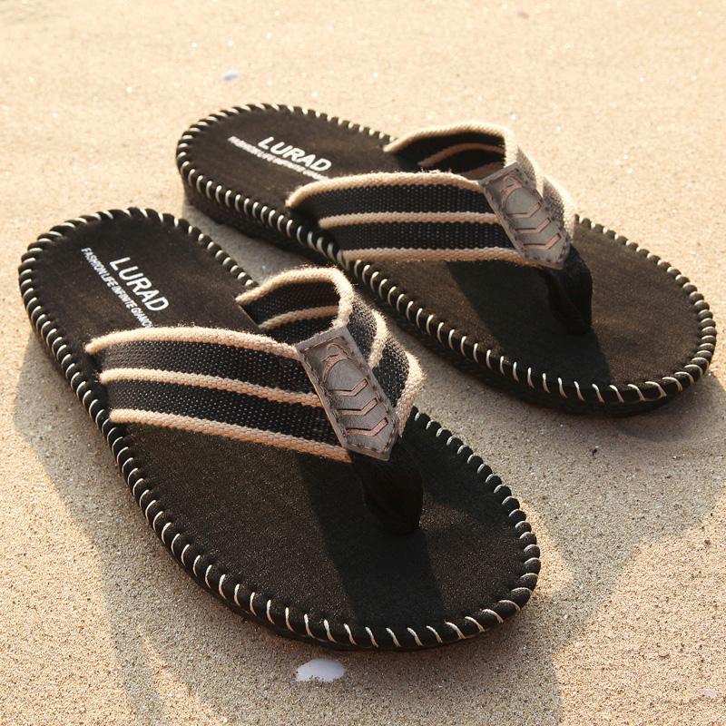 路拉迪英伦男士人字拖 夏季凉拖鞋男耐磨防滑凉鞋透气沙滩鞋潮流