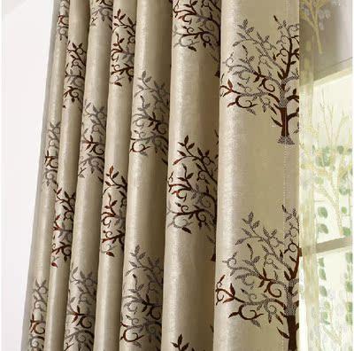 定制窗帘遮光布料客厅成品卧室奢华欧式风格定制窗帘