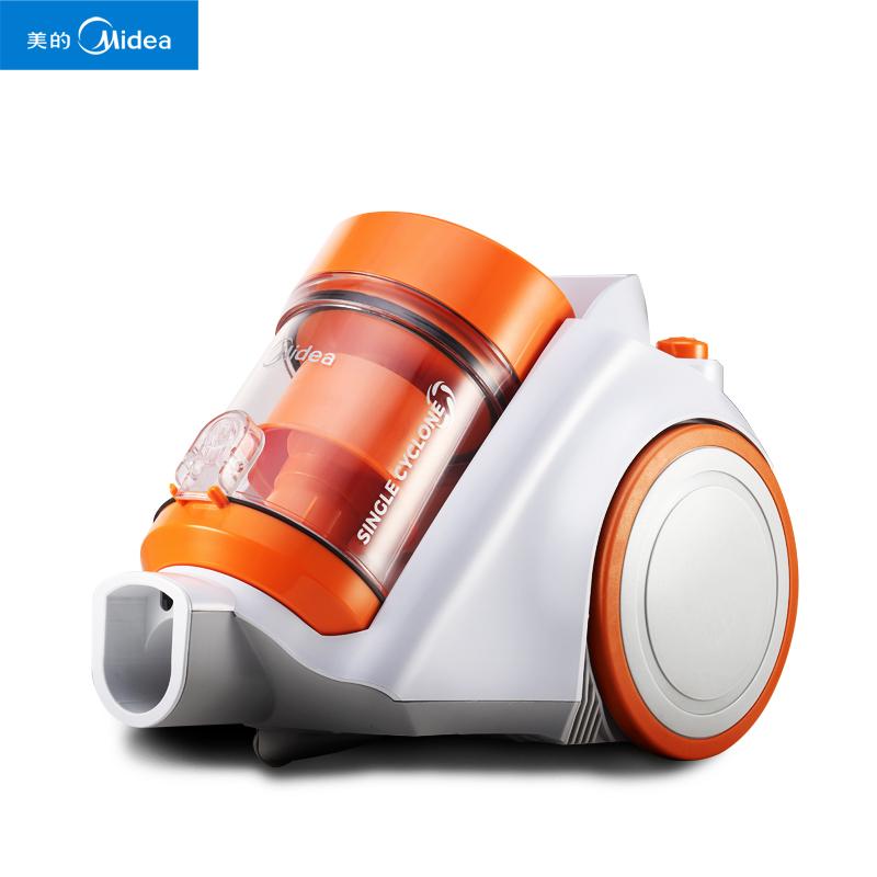 美的家用木地板超强吸力地毯式吸头发的吸尘器除狗毛生活电器洗成