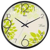 麦丁时尚挂钟客厅办公简约静音时钟挂表创意石英钟万年历D563