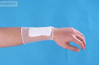 医用弹力网状管条绷带 纱布敷料包扎固定 鱼网套网格筒形拉伸绷带