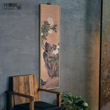 客厅装饰画现代中式壁画玄关水墨挂画书房墙画牡丹樊圻仟象映画