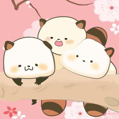 微信表情包萌二小浣熊公仔熊猫抱枕儿童玩偶布娃娃送女孩生日礼物