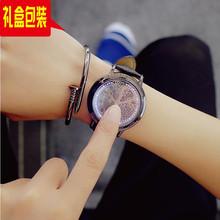 创意韩版时尚潮流情侣智能科技炫酷灯光夜光学生男女礼物LED手表