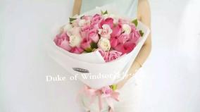 玫瑰花束送花上门 送闺蜜长沙深圳北京成都杭州同城鲜花速递花店