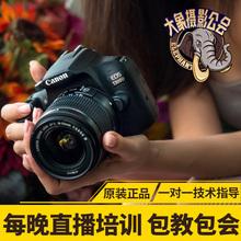 【大象摄影】Canon/佳能入门级高清数码单反相机 EOS 1300D带WIFI