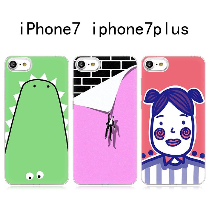 搞怪欧美简笔画头像 iPhone7/7plus苹果系列手机壳个性保护套全包