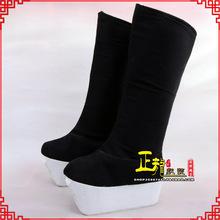 古代老生高靴官靴男古装 高靴 靴子朝方 京剧越剧戏曲戏鞋 正龙戏装