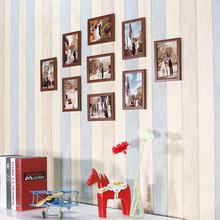 9个7寸相框组合照片墙相框墙影楼9宫格婚纱九宫格出租屋宿舍装修