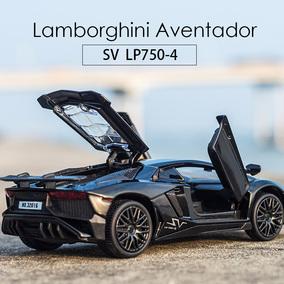 兰博基尼跑车合金车模 开门回力儿童玩具车合金车仿真小汽车模型