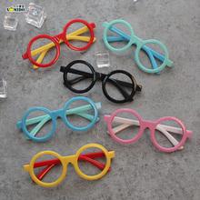 韩国儿童眼镜框可爱无镜片男童女童宝宝圆形可爱框架小孩潮包邮