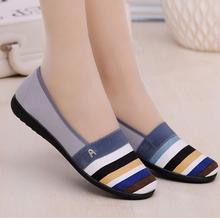 老北京休闲鞋 透气板鞋 秋季平底女鞋防滑单鞋工作布鞋低帮潮鞋子