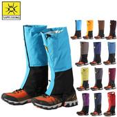 套防沙防风防护腿套沙漠脚套 户外防水透气雪套防泥沙护腿套登山鞋