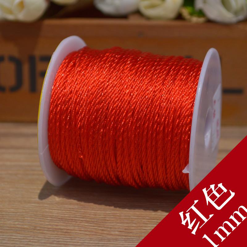 diy配件手工材料中国结线材1mm璎珞绳线网络菠萝线绳项链手链吊坠