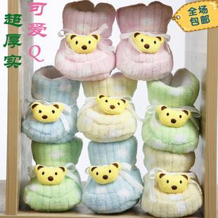 婴儿学步鞋软底秋冬0-1岁宝宝鞋幼儿 棉鞋系带高帮婴儿鞋