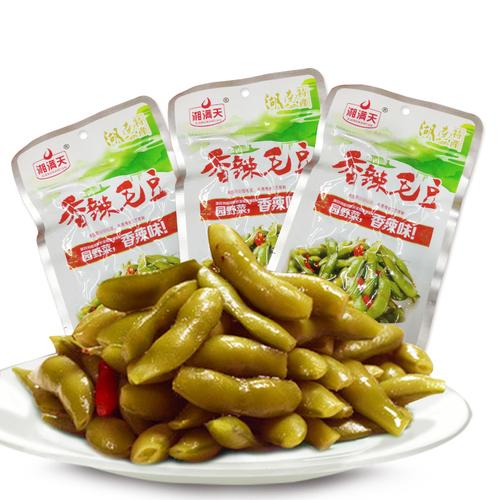 湖南特产湘满天香辣毛豆32g*20包酱卤下饭菜麻辣熟食毛豆卤味零食